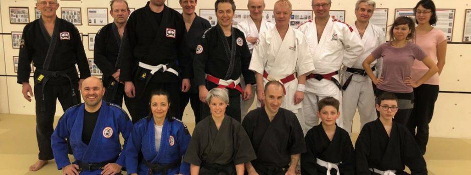 Erstes gemeinsames  Training in Bern im 2018